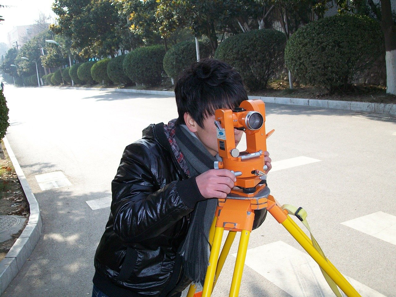 surveyor, surveying, land